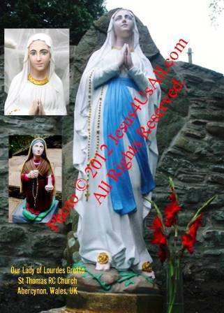 Our Lady of Lourdes Statue Renovation